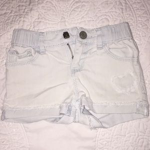 4t gap shorts washed out denim